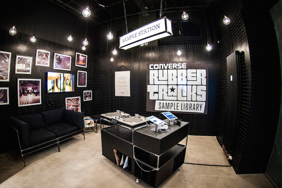 Sample Library Workshop for CONVERSE